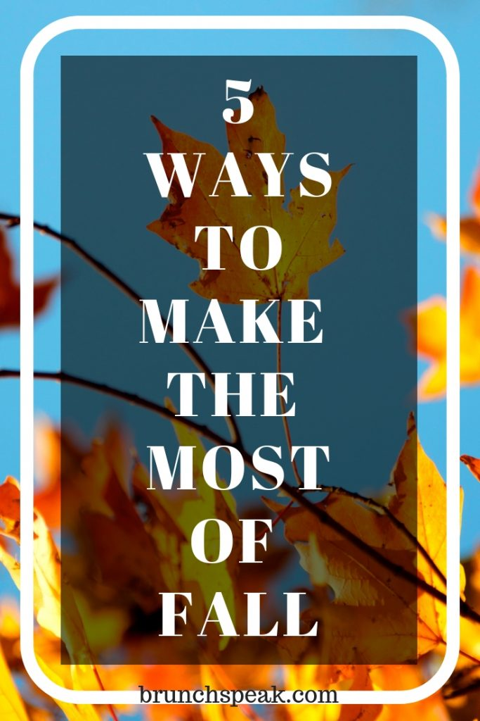 5 Brilliantly Basic Fall Activities You Can't Help But Love