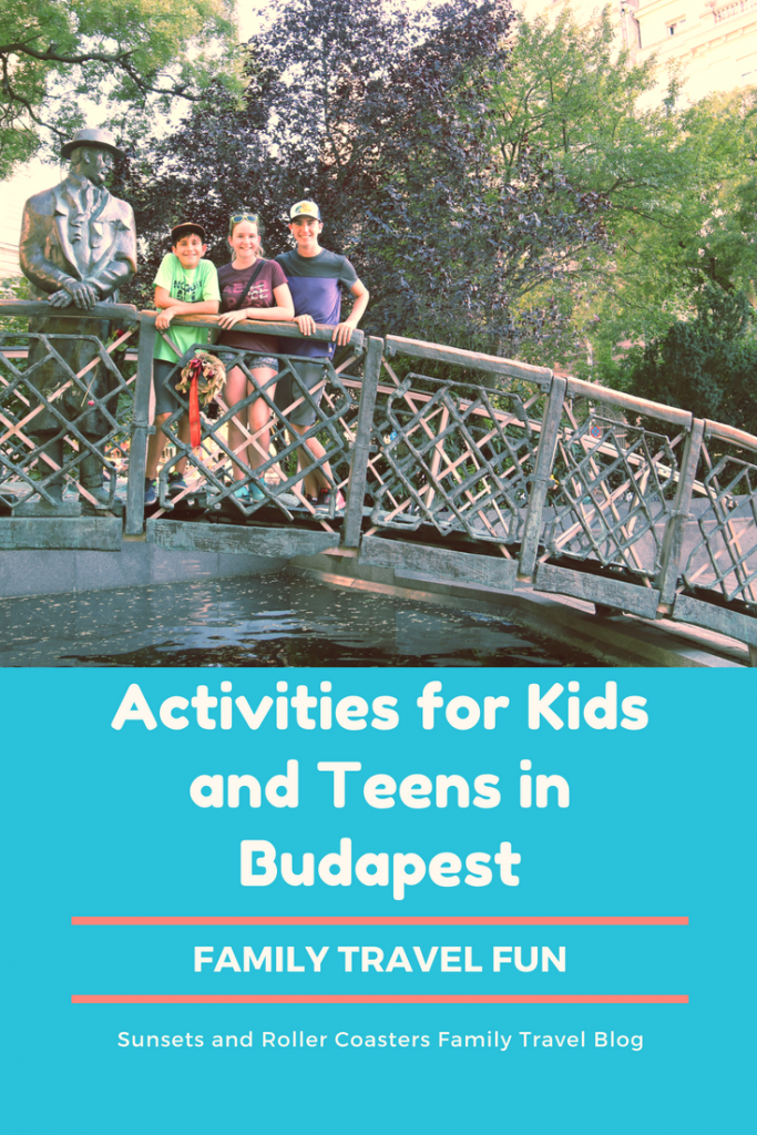 Things for kids and teens to do in Budapest