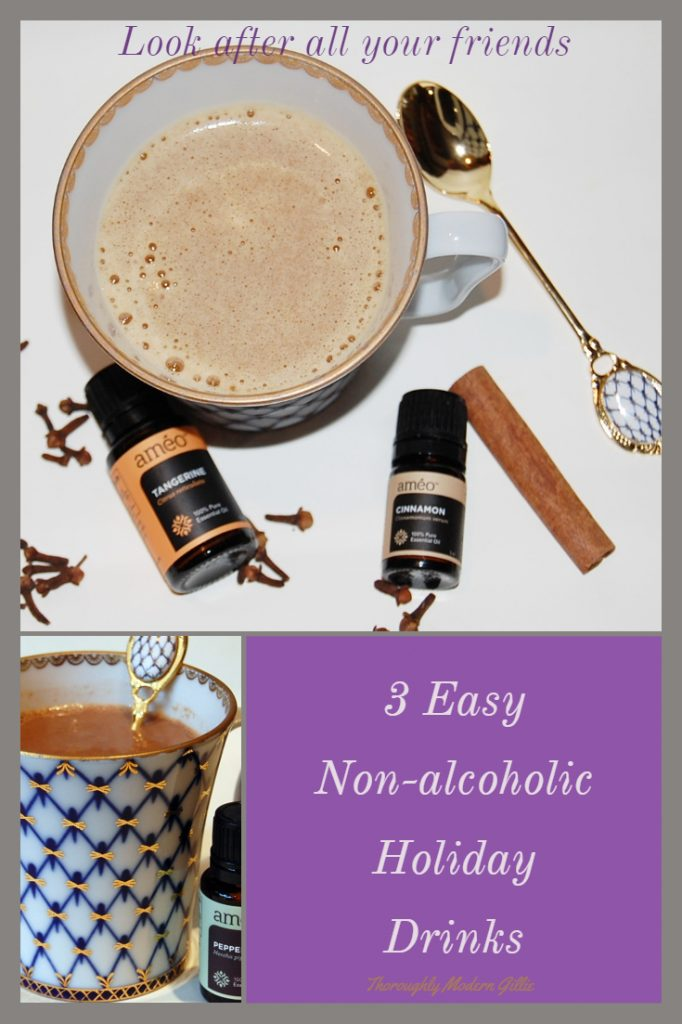3 easy Non-Alcoholic Holiday Drinks