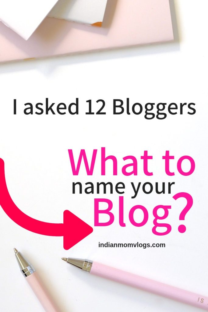 What Should your Blog Name Be?