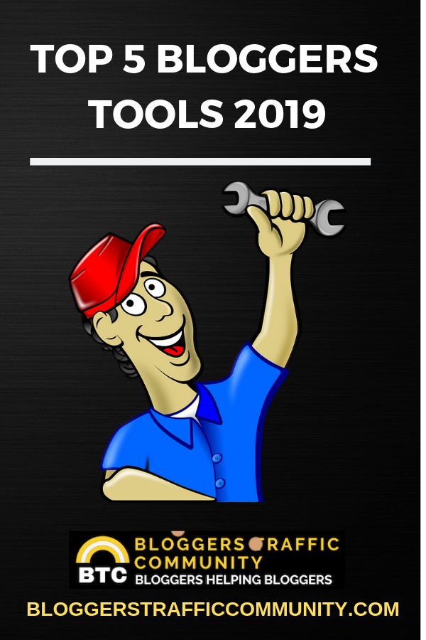 Top 5 Blogging Tools 2019