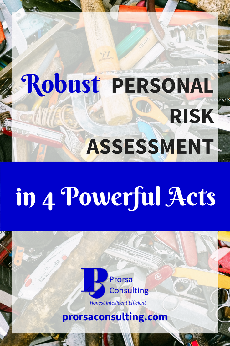Robust Personal Risk Assessment in 4 Powerful Acts