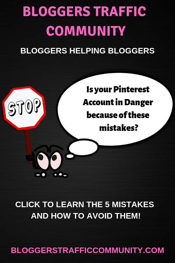 Is Your Pinterest Account in Danger because of these mistakes?
